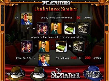 Slotfather - 777 бесплатный слот с жесткими правилами игры